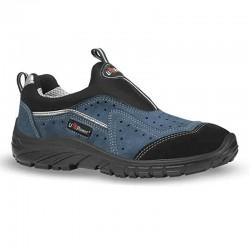 Chaussures de Sécurité Respirante  S1P, sans lacets avec une coque de protection
