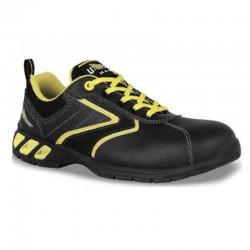 Chaussures de sécurité noire et jaune Royal S3 SRC