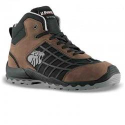 Chaussures de sécurité montantes marron Champion S3 SRC design et moderne