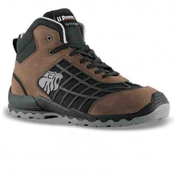 Chaussures de sécurité montantes marron Champion S3 SRC - Upower