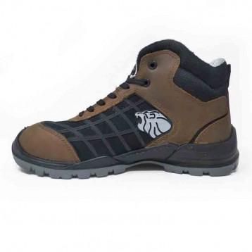 Chaussures de sécurité montantes marron Champion S3 SRC