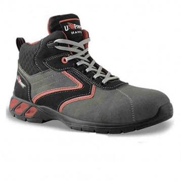 Chaussures de sécurité montantes Gin S1P SRC, bicolore, renforcée pour sécurité absolue
