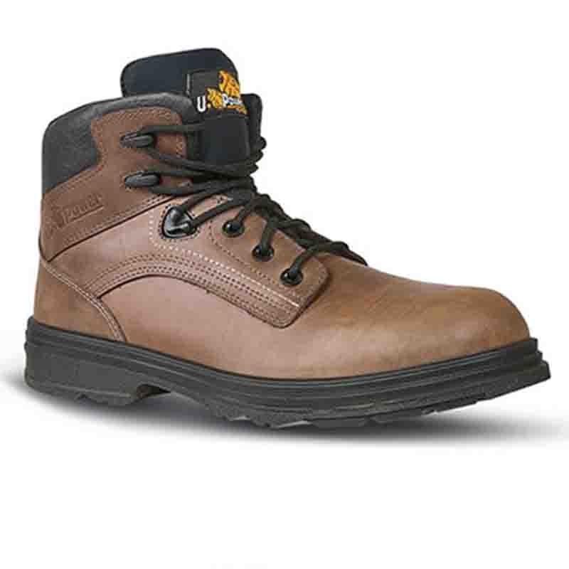 Chaussures de Sécurité Montante S3, marron, homme, travaux extérieur