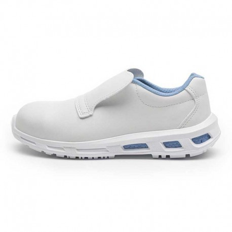 Chaussures de sécurité BLANCO S2 SRC. Chaussure confort pour la cuisine. Semelle respectant les normes. Coque de sécurité.
