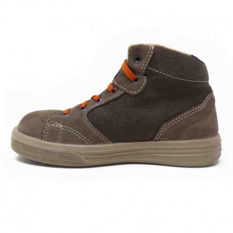 Chaussures de Sécurité Basket Montante Beige S1P SRC