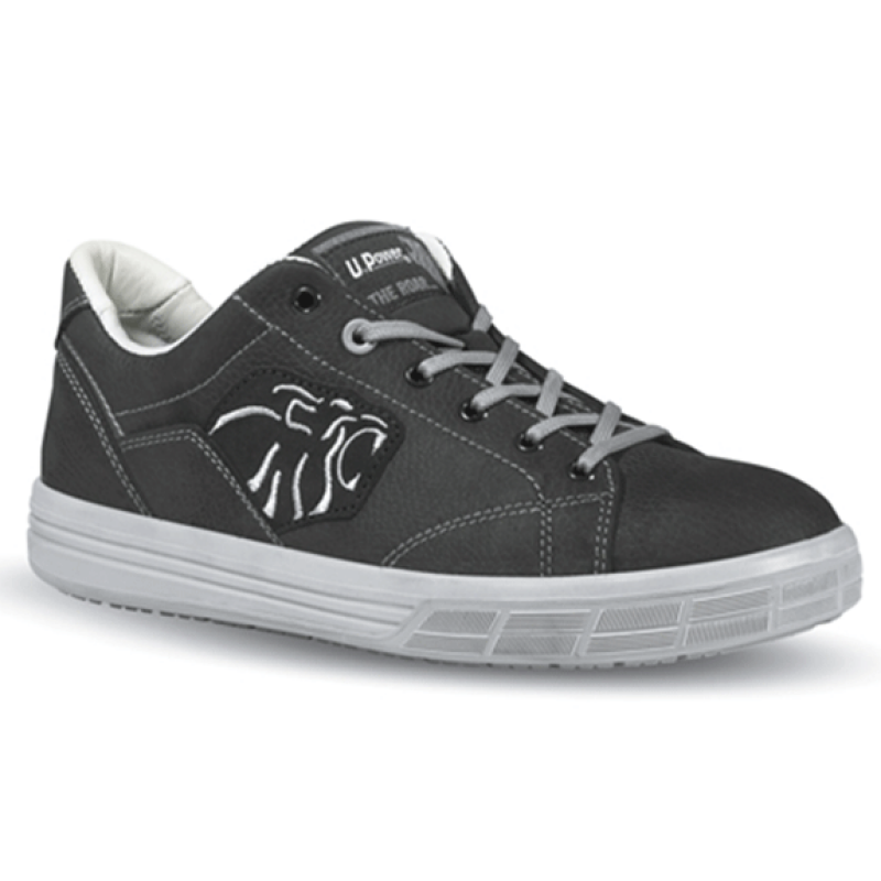 Chaussures de sécurité Amazon. Aspect basket couleur noire