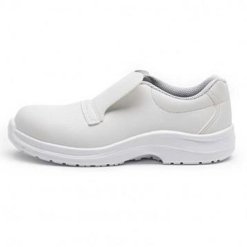 Chaussures de Sécurité boulanger Blanche Cat S2. Coque de sécurité en composite.