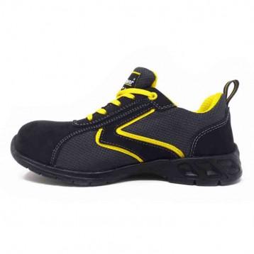 Baskets de sécurité jaune et noire Upower