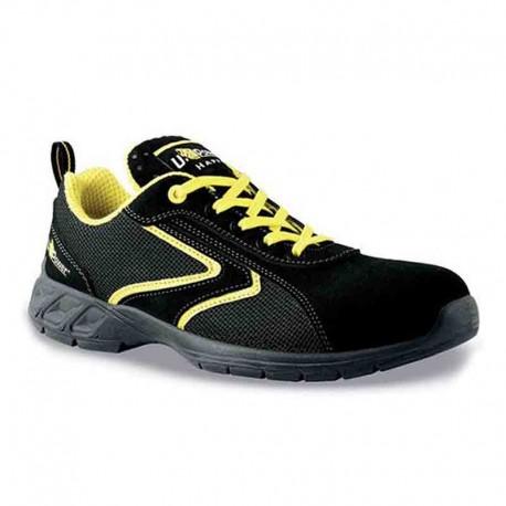 Baskets de sécurité jaune et noire Daiquiri S1P SRC