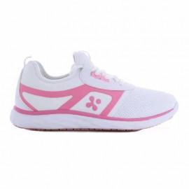chaussures de travail rose