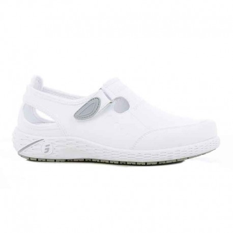 chaussures de travail blanc décontractées