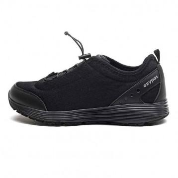 Chaussure de sécurité noir sans lacet de la marque oxypas.