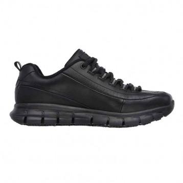 skechers noire cote. Chaussures de sécurité souple et légère à prix attractif. Semelle stop glissade.