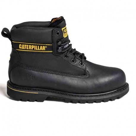 Chaussures de securite montante noir holton