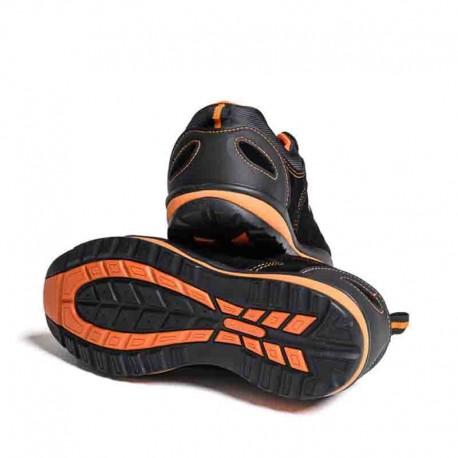 Chaussures sécurité Trainer Noir et Orange