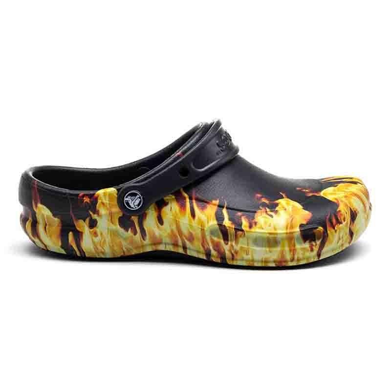 Sabots Crocs™ Bistro Flammes semelle confortable