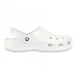 Sabot médical Crocs beach blanc
