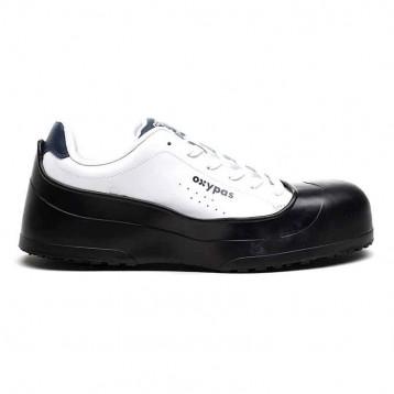 Ebout en acier Shoes For Crews semelle antidérapante exemple chaussure intérieure blanche