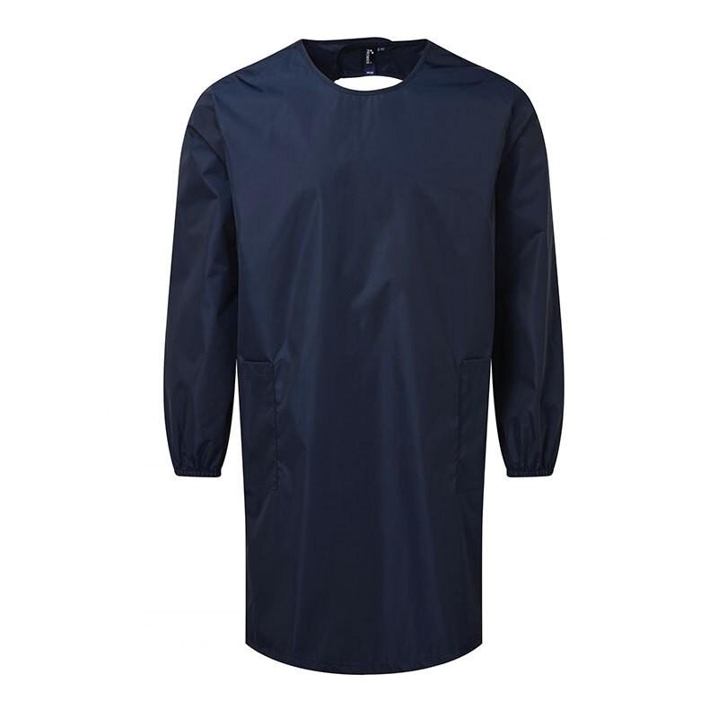 robe de salon bleu marine