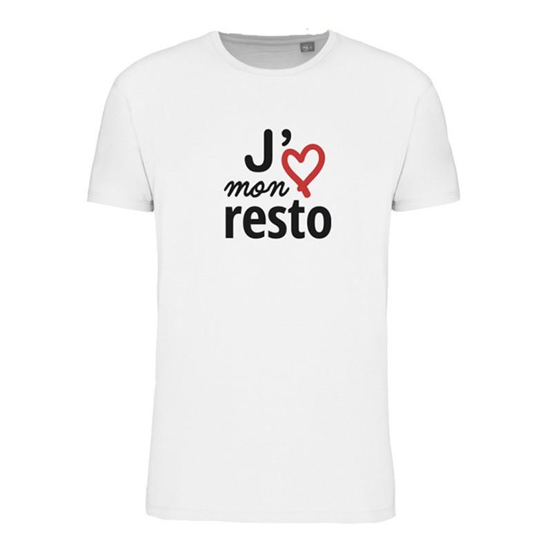 T-shirt homme - J'aime mon resto