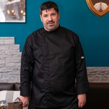 exemple de veste sur cuisinier grande taille