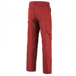 Pantalon Lafont workwear rouge