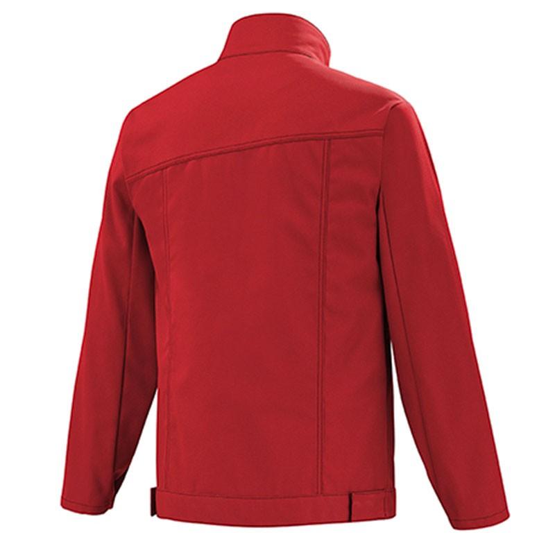 veste rouge pour professionnels