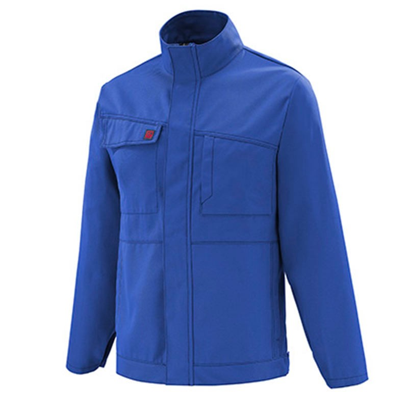 veste de travail bleu bugatti