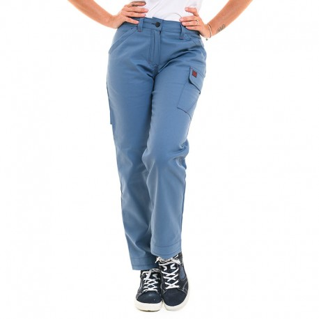pantalon bleu métal lafont