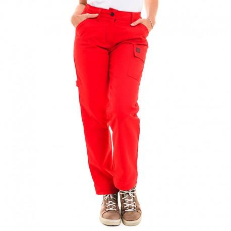 Pantalon de travail rouge Lafont