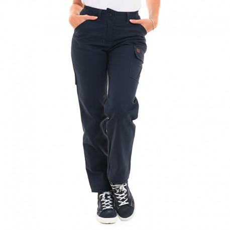 pantalon de travail bleu marine Lafont