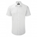 chemise service blanche manches courtes