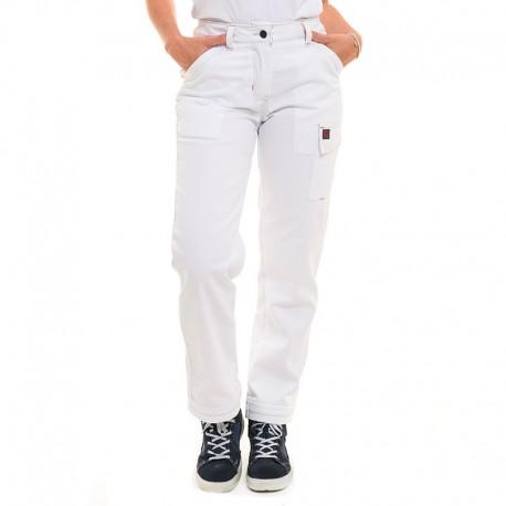 Pantalon de travail blanc Lafont pour femme