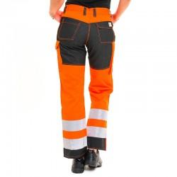 Pantalon à insert et bandes réfléchissantes