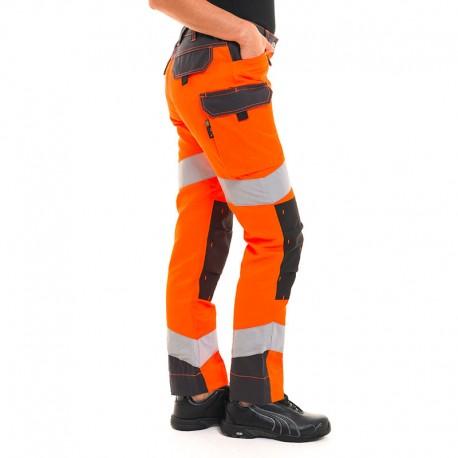 Pantalon à bandes réfléchissantes