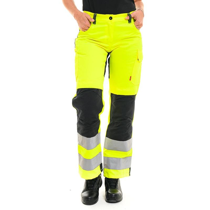 Pantalon haute visibilité fluo