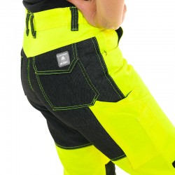 Pantalon jaune fluo lafont
