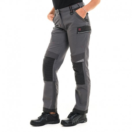 Pantalon workwear femme manelli