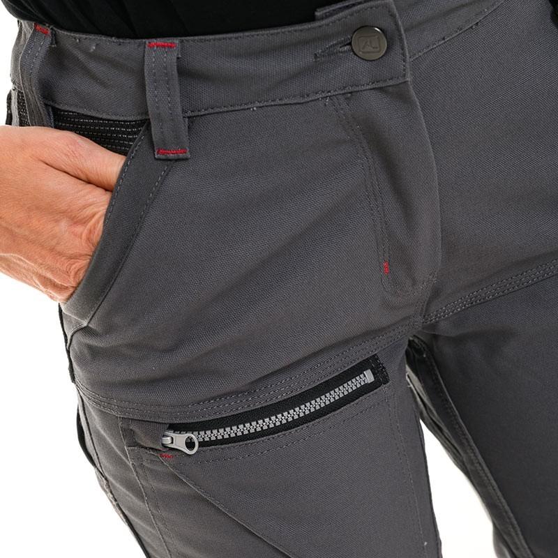 Pantalon à poche zippé Lafont