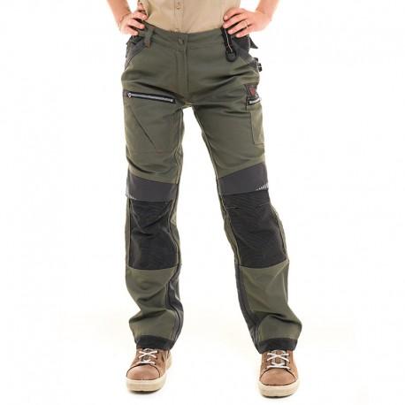 pantalon chain kaki manelli