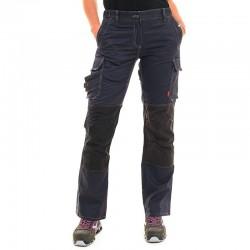 Pantalon de Travail femme gris Ituha Lafont