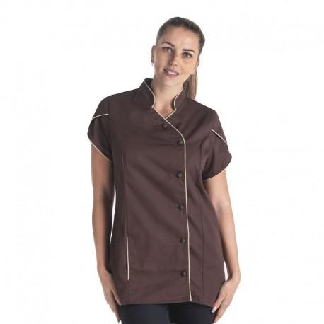 blouse médicale magnolia marron