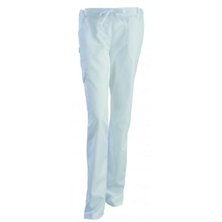 Pantalon médical Juliette blanc