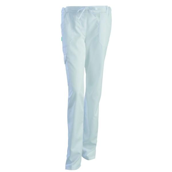 Pantaloni estetista bianchi Juliette