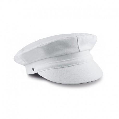 casquette yatching blanche