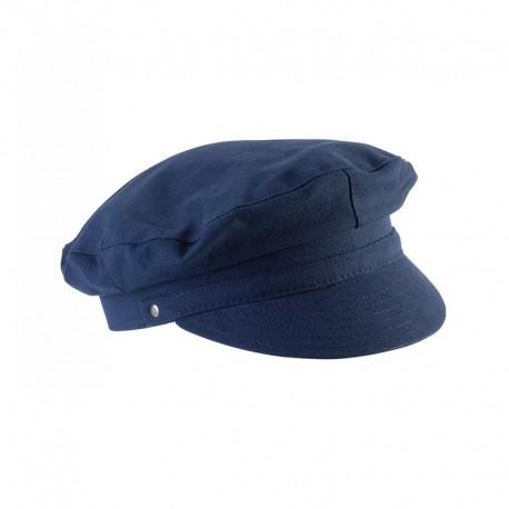 casquette de marin bleu marine