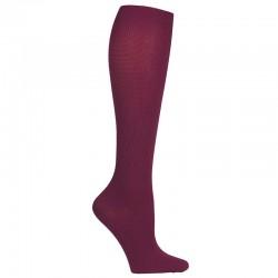 chaussettes de compression bordeaux