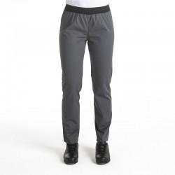 Pantalon de Cuisine gris Femme Manelli®