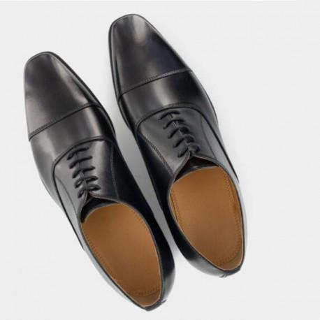 chaussures de service classe noir vernis nordways