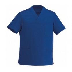 TUNIQUE MEDICALE COL V Bleu Royal